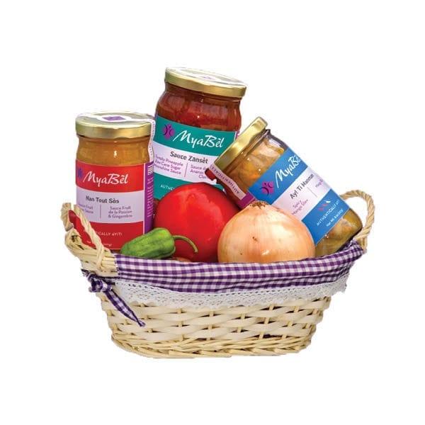 MyaBèl's Gourmet Kreyòl basket - Gift basket