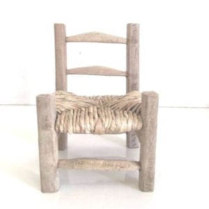 Traditional latanier Wood Chair - Chair