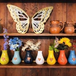 Calliope Vases - Butterflies