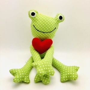 Prince Charming Stuffed Frog - Stuffed toy