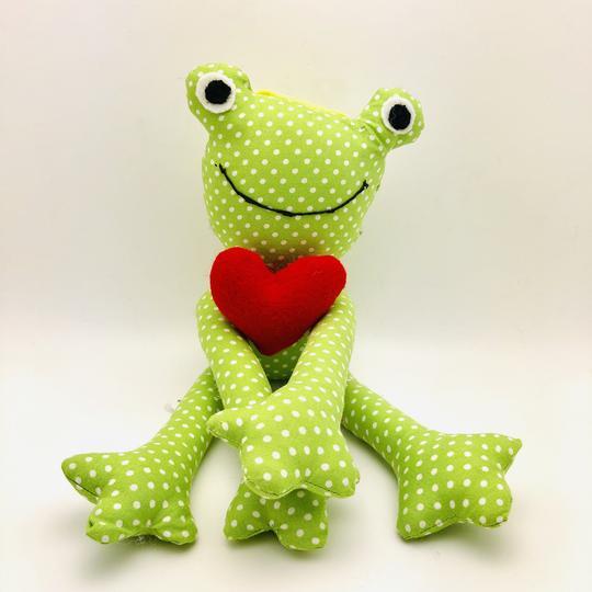 Prince Charming Stuffed Frog - Stuffed toy