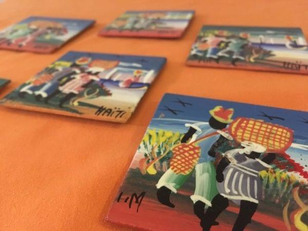 Haitian Hand-Painted Magnets - Art
