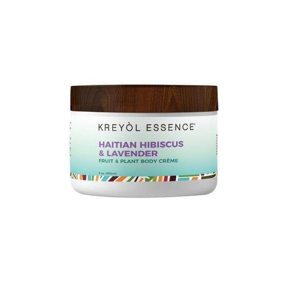 Haitian Hibiscus & Lavender - Hand & Body Crème by Kreyol Essence - Cream
