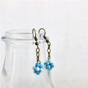 Microbeads Balls Earrings