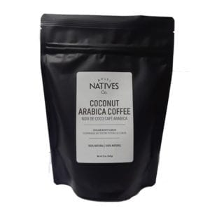 Bag of Coconut Arabica Coffee Sugar Body Scrub by Ayiti Natives -