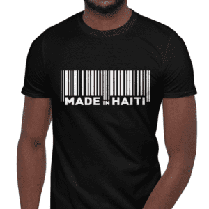 Made in Haiti - Short-Sleeve Unisex T-Shirt - barcode design