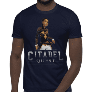 Citadel Quest - Princess Athénaïs - Short-Sleeve Unisex T-Shirt - video game apparel