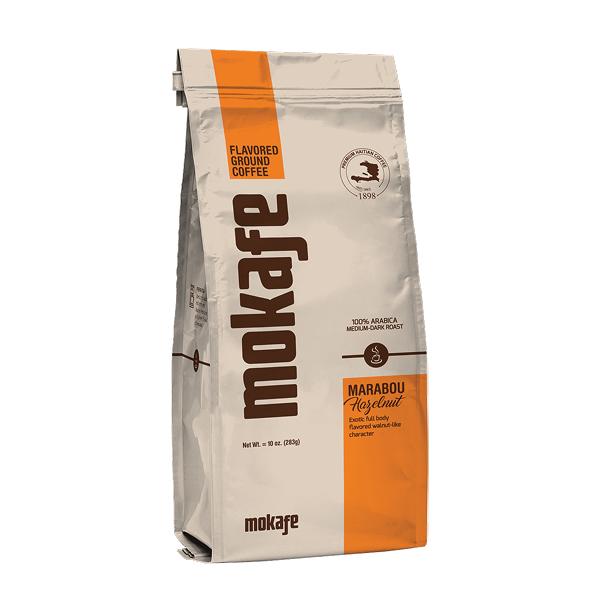 Marabou Hazelnut by Mokafe - coffe bag