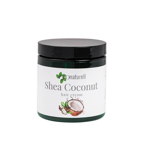 Shea Coconut Hair Cream by Onaturell (8oz) - Cream