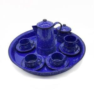 Enamel Coffee set by Haiti Metal - tableware